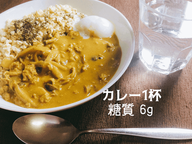 糖質制限カレーの簡単レシピ「豆腐・カレー粉・大豆粉」で1杯6g