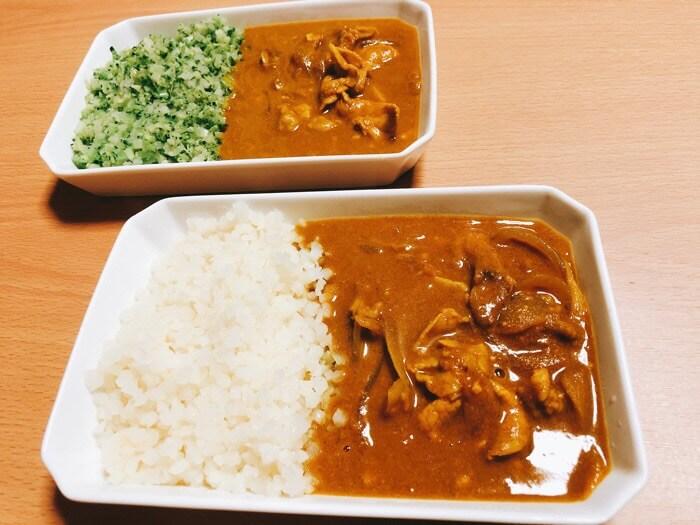 お米のかわりに食べるカレー