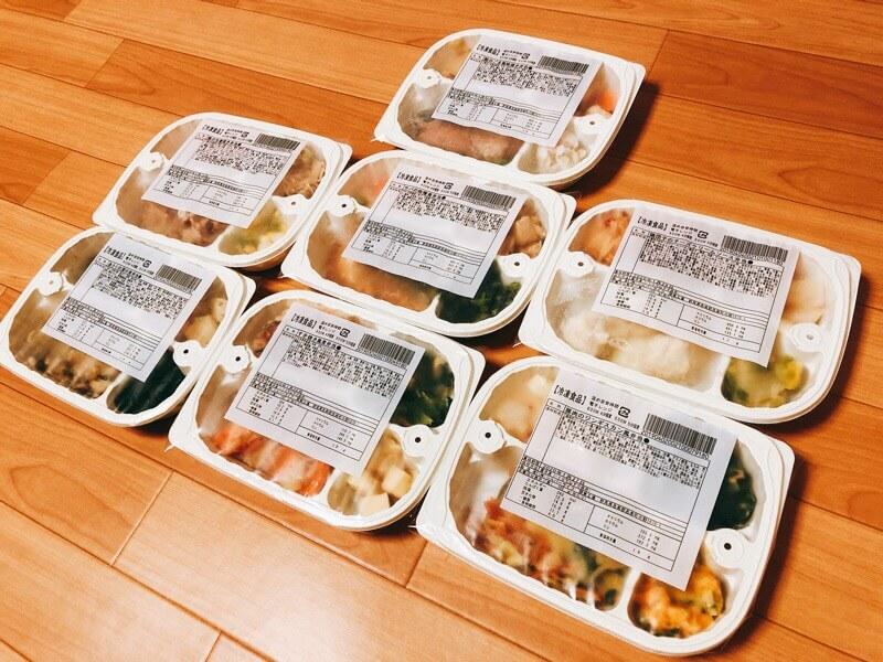 お弁当7食セット